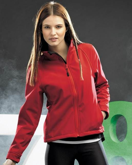 Trendy Dames #Softshell van het merk 2786. #teamspullen