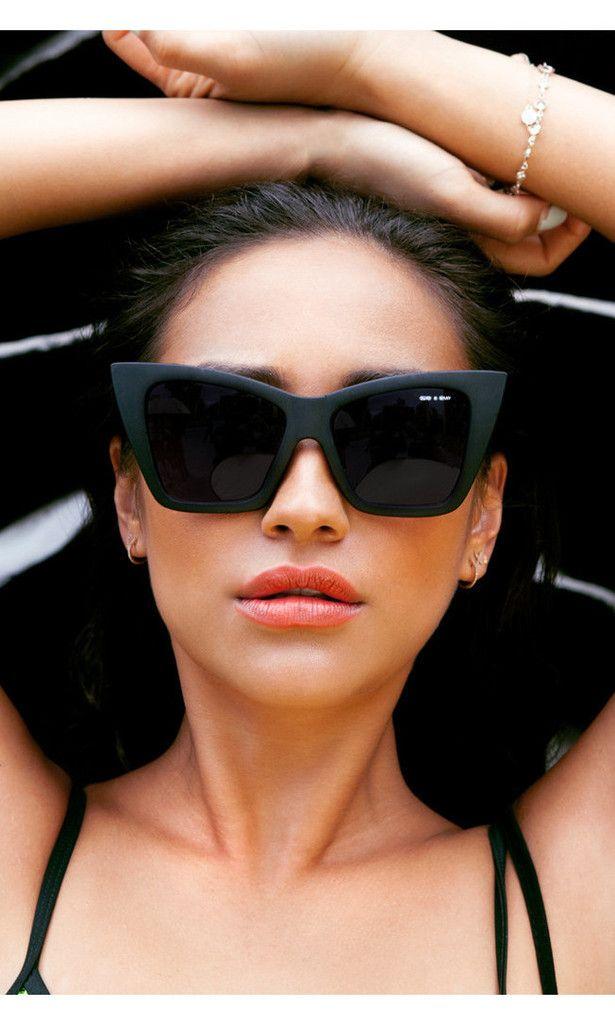 Vesper Black Sunglasses from Quay x Shay Mitchell