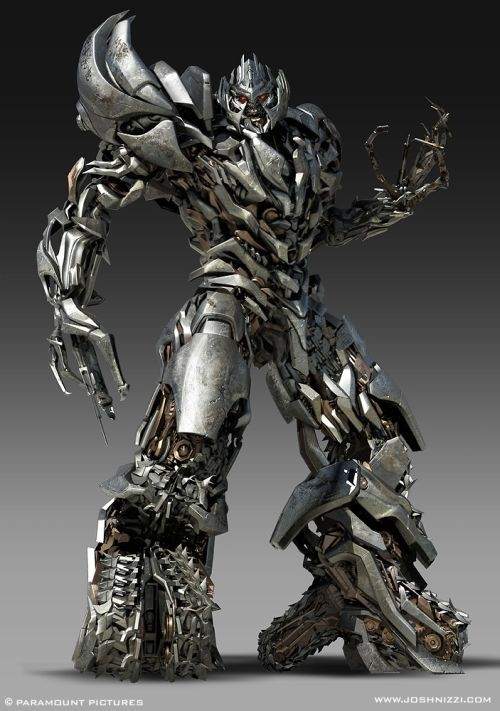 As ilustrações e artes conceituais de filmes de Josh Nizzi - Transformers 2 e 3