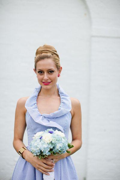 Southern Spotting: Seersucker Bridesmaid Dresses « Southern Weddings Magazine