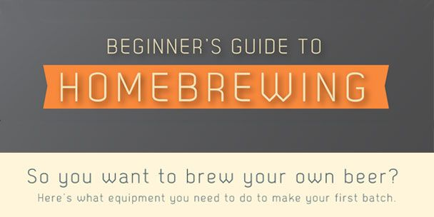 Brewing your own beer can be confusing for a beginner. This is why we created an Infographic that will guide beginners through the brewing process.