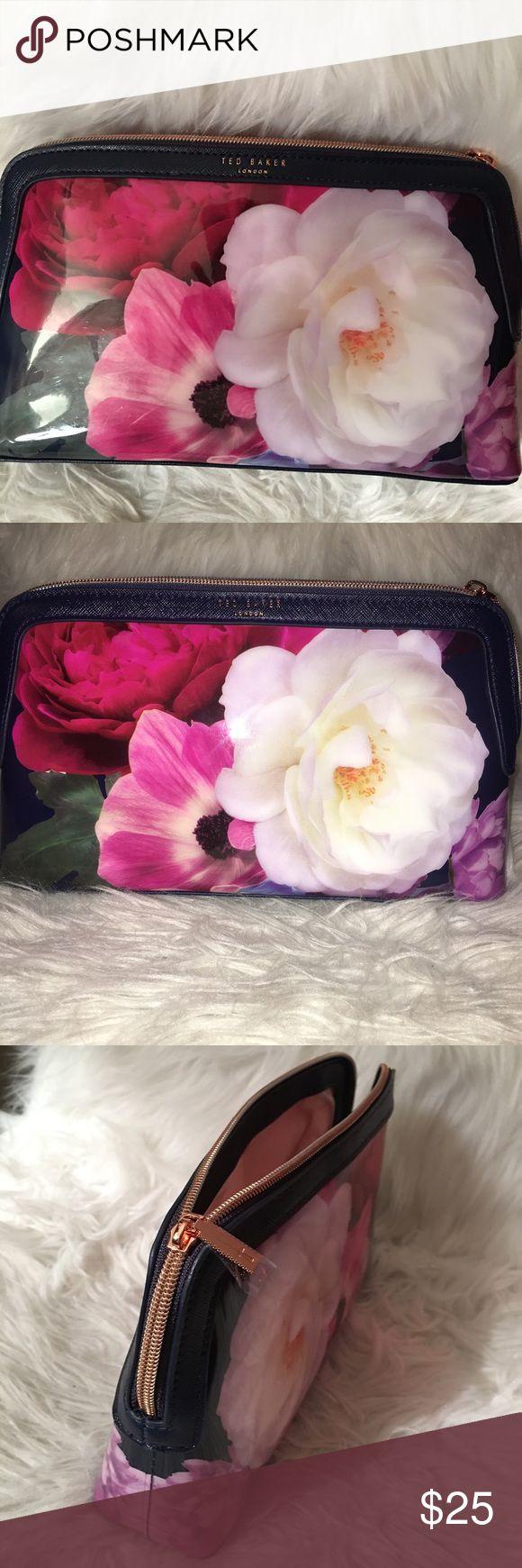 TED BAKER Make up Bag, NEW, Large TED BAKER Make up Bag, NEW, Large Ted Baker London Bags Cosmetic Bags & Cases