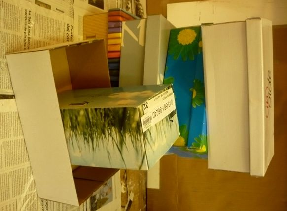 Paper Mache dollhouse tutorial
