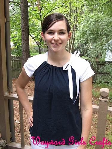 DIY Pillow case shirt (seems easy to make variations)