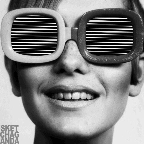 Op art sunglasses part 2 gif by Sketchaganda Follow @sketchaganda