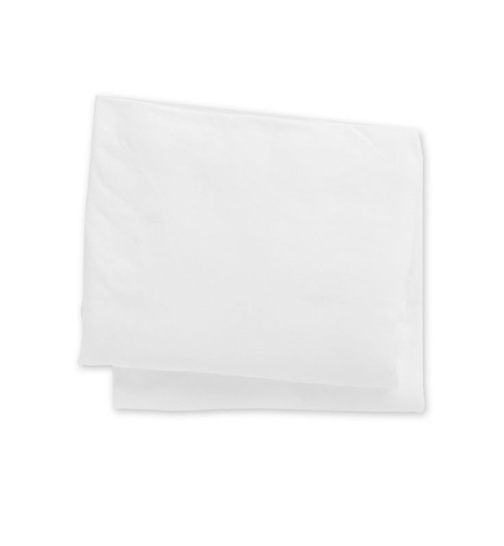 Mothercare Jersey Fitted Crib Sheets- 2 Pack White