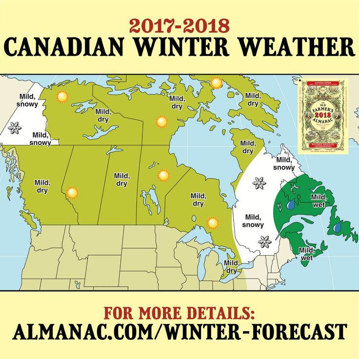 175 best almanac weather watchers images on pinterest for Winter 2018 predictions farmers almanac