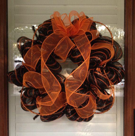 Halloween Wreath Classic Halloween/Fall by GreatLittleGiftShop, $60.00