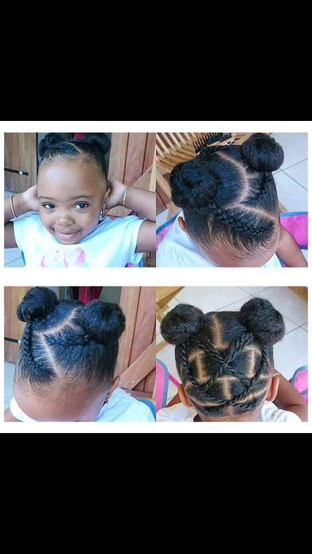Cute hairstyle for toddlers
