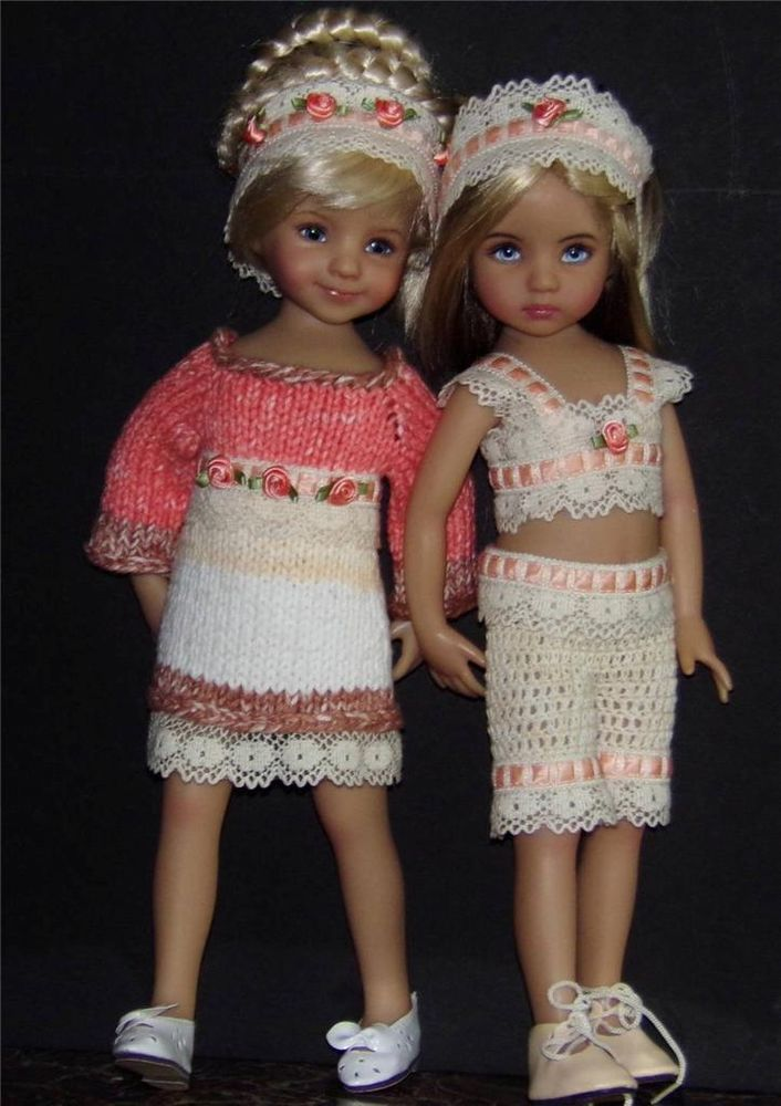 "DRESS,CAPRI & SHOES SET MADE FOR EFFNER LITTLE DARLING &SIMILAR SIZE 13""DOLL. Ends 7/3/14."