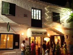 Restaurante Es Cranc en Fornells Menorca