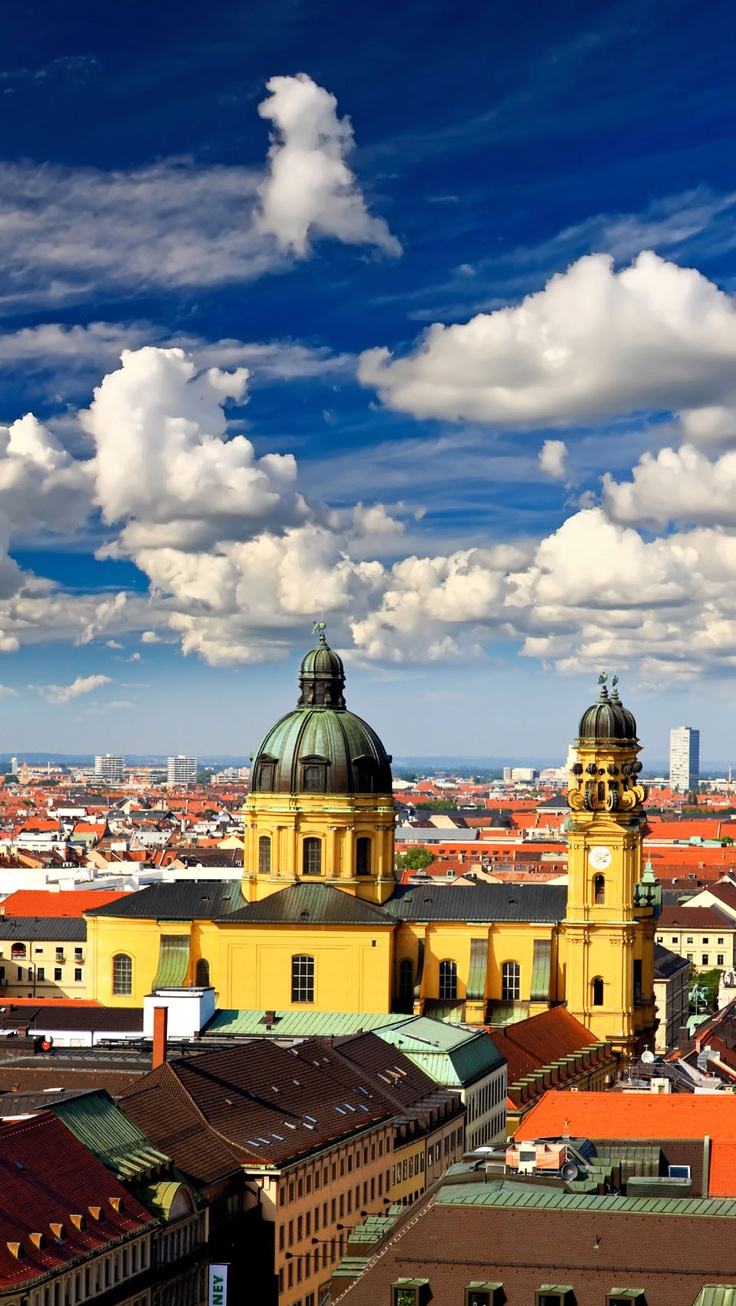 Munich, Germany. Birthplace of my great-great-great-great grandfather Michael Arter.