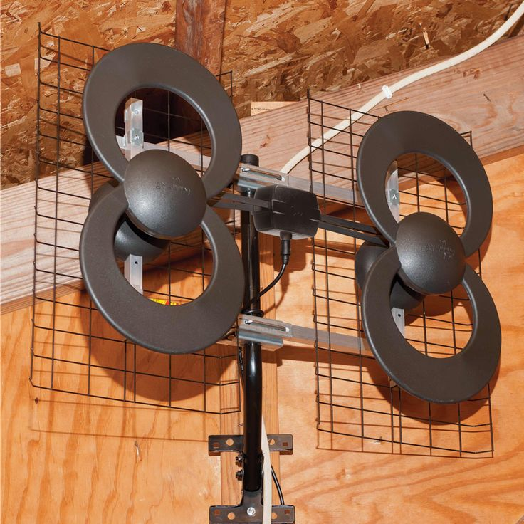 Antennas Direct | ClearStream™ 4 Ultra Long Range Indoor/Outdoor Multi-Directional Digital TV Antenna