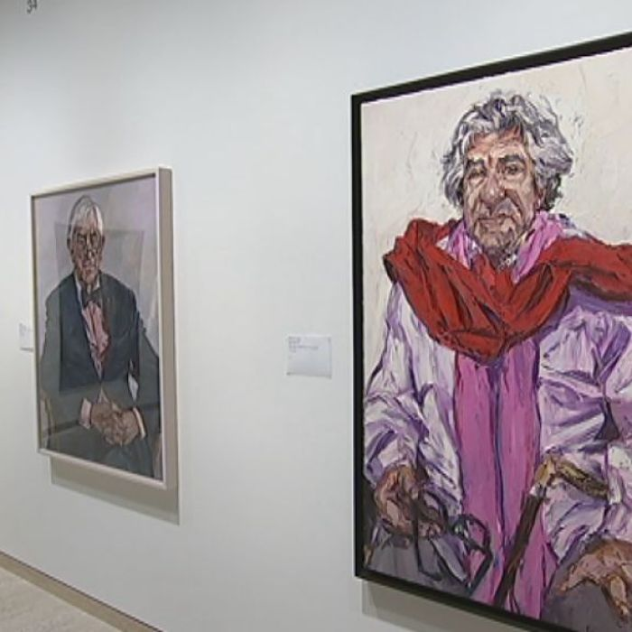 A selection of the 51 portraits selected as finalists of The Archibald Prize for 2016.