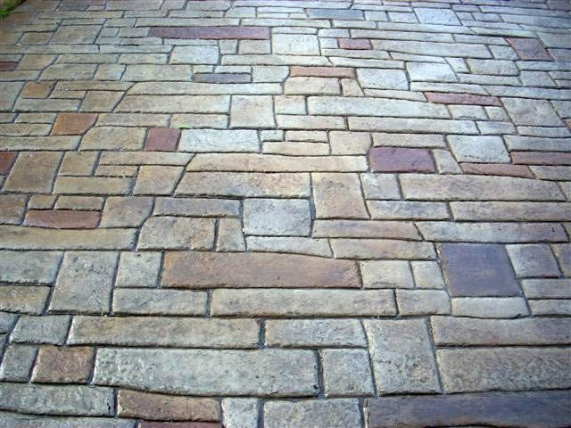 stamped concrete. like!