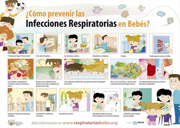¿Cómo prevenir las infecciones respiratorias en bebés?