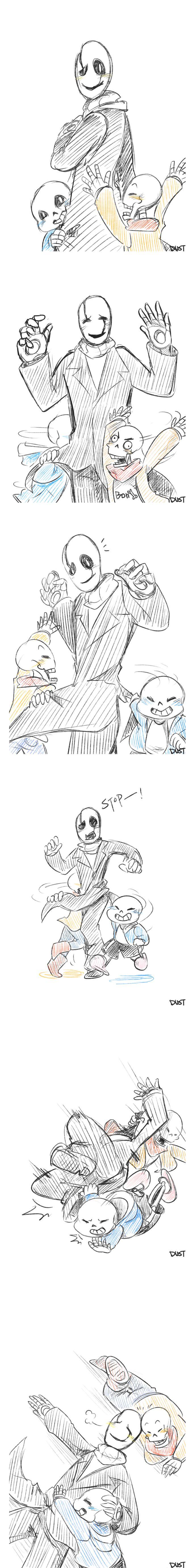 [UT] skeletonfamily2 by dust4148 on DeviantArt