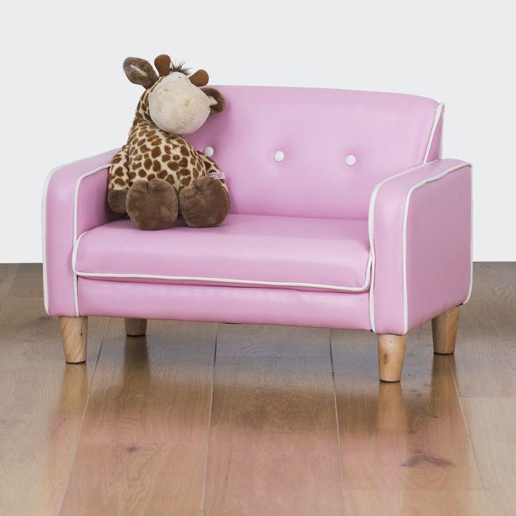 El Nino Kids Sofa - Bubblegum Pink | $99.00