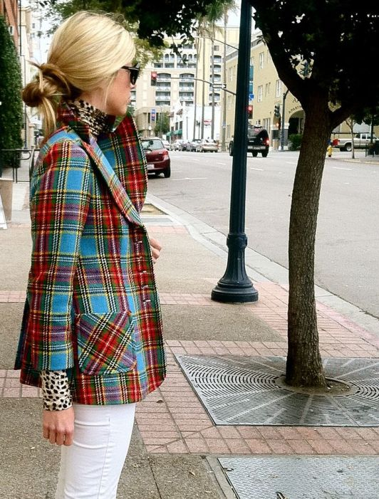Trendy Plaid Coats