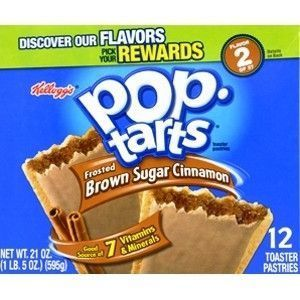 Kellogg's Pop-Tarts Frosted Brown Sugar Cinnamon 1 PACK