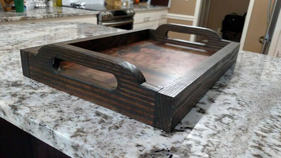 Serving Tray With Photo