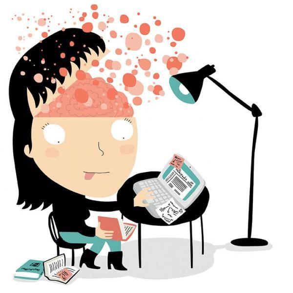 Les personnes à haut potentiel ont un cerveau qui fonctionne à plein régime, une…