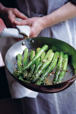 Green Asparagus with Brown Butter - Darigold