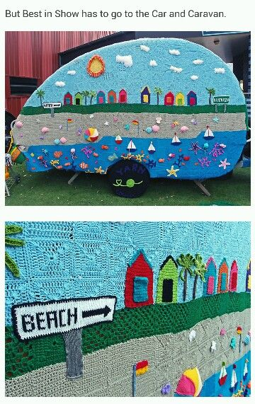 #yarnbombing #yarnstorming #graffiti knitting – Seen on Pinterest, loved and repined by Craft-seller.com.