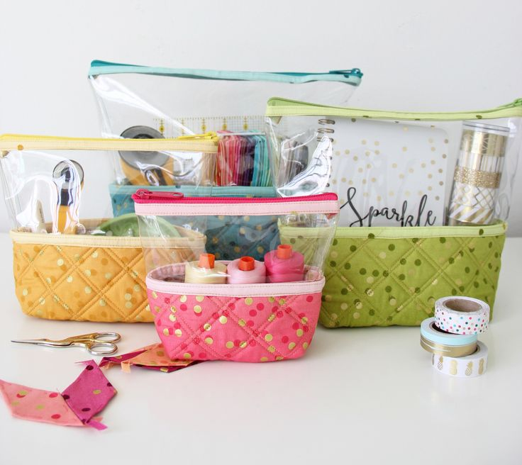 Hello Pouches – Knot and Thread Design