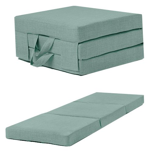Details About Fold Out Guest Mattress Foam Bed Single