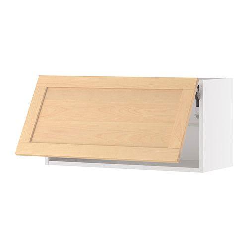 Ikea Kitchen Cabinet Construction: AKURUM Wall Cabinet Horizontal IKEA Door Lift With Catch