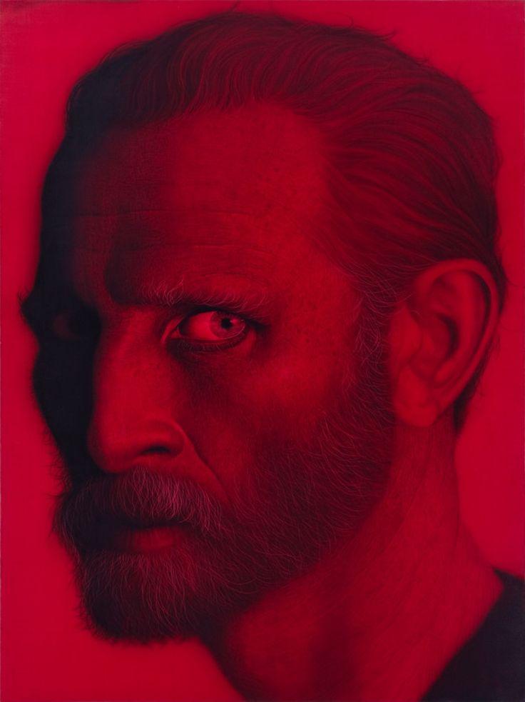 Van Gogh in Red - 강형구