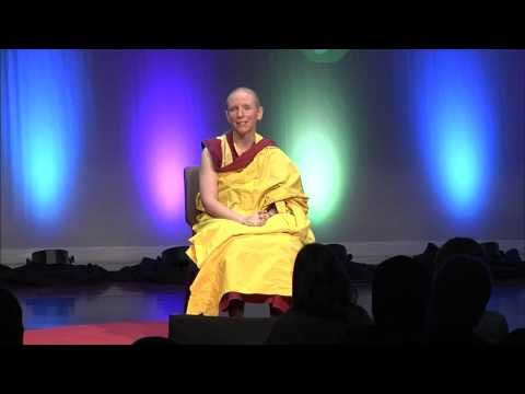 Happiness is all in your mind: Gen Kelsang Nyema at TEDxGreenville 2014 - YouTube