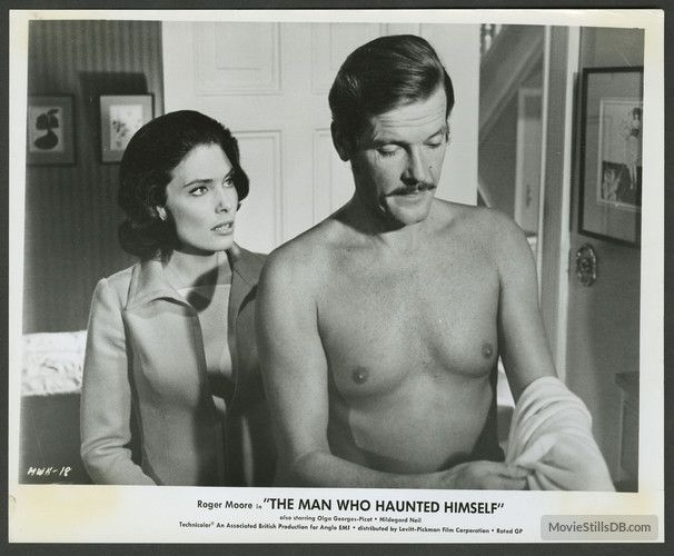 The Man Who Haunted Himself - Publicity still of Roger Moore & Hildegard Neil