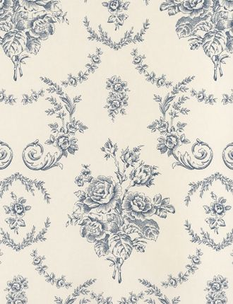 Would love as a stencil....Saratoga Toile wallpaper from Ralph Lauren