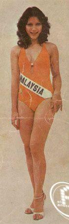 Yasmin Yusuff - Miss Universe Malaysia 1978