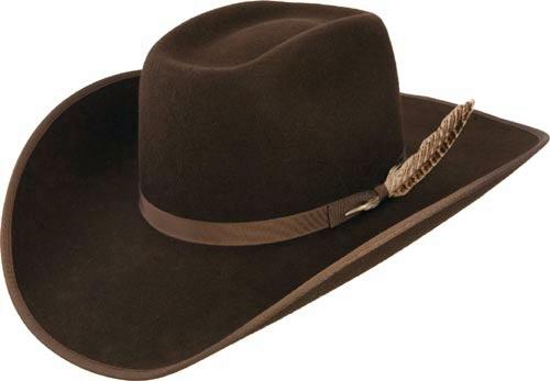 Kids Cowboy Hats Tuff Hedeman Holt Jr Brown Bound Edge