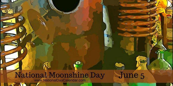 June 5, 2017 – NATIONAL VEGGIE BURGER DAY – NATIONAL GINGERBREAD DAY – NATIONAL MOONSHINE DAY