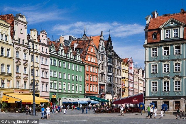 Wroclaw: As pretty and colourful as any of its Polish counterparts, but still undiscovered by mass tourism