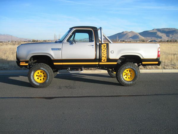 1977-1981 Dodge Macho Power Wagon