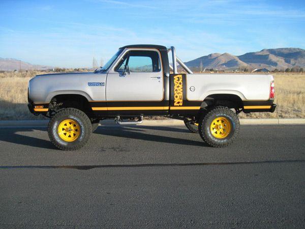 1977-1981 Dodge Macho Power Wagon