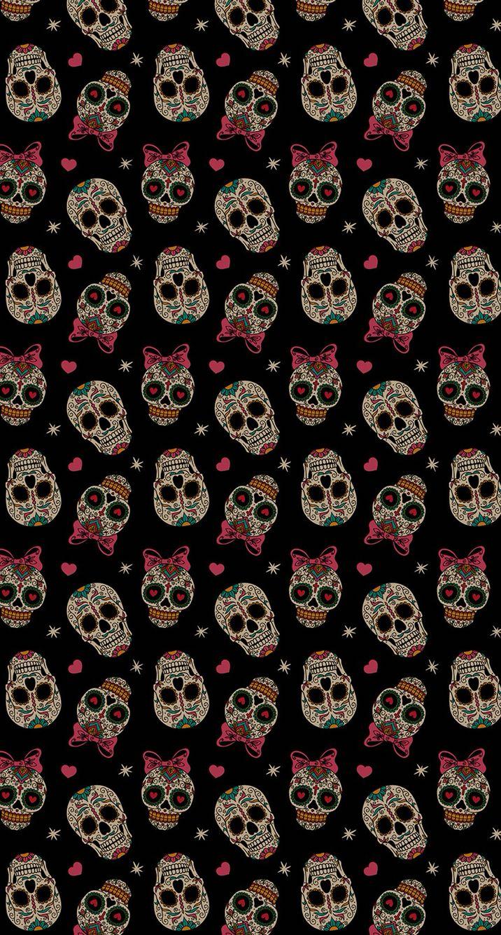 sugar skull wallpaper pinterest skull wallpaper