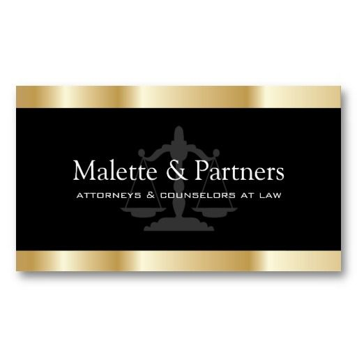 20 best business cards 24 hours images on pinterest carte de gold and black attorney business cards colourmoves