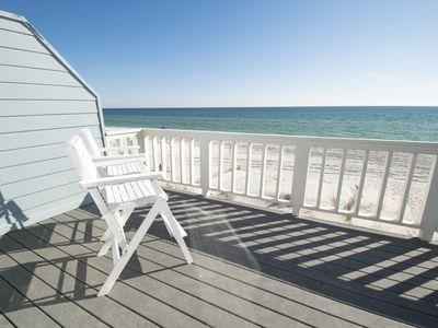Four Steps ~ Inlet Beach ~ Beachfront Balcony ~ Paradise Properties