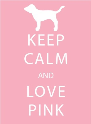 Keep Calm And Love Ice Cream Pink