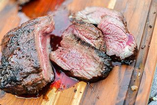 Introducing a rich marinade gives this tri-tip a complexity and ...