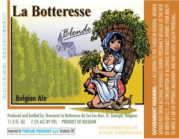 La Botteresse Blonde Label