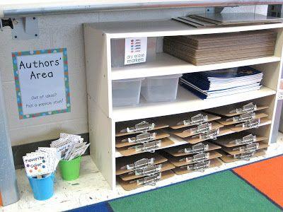 LOVE the idea of having your white boards and clipboards below the Smart Board