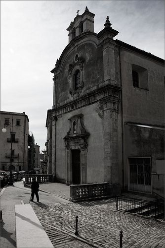 casacalenda italy - visit the church my grandmother was baptized in and ancestors went to.