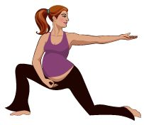 By learning to link your breath and movements in a constant flow, you'll greatly increase your ability to work with your body during labor and childbirth, reducing the likelihood that you'll need medication or other interventions